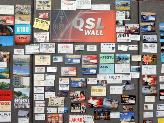 The QSL Wall