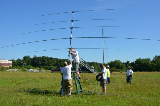 TX38 Yagi Installation On Tower