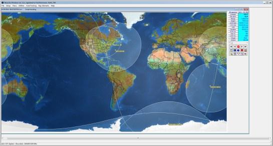 Nova For Windows (FO-29 Satellite Pass)