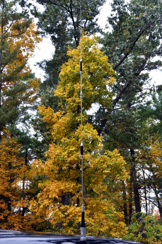 2m / 70cm Mobile Antenna and Mount