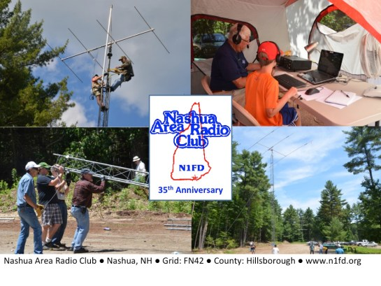 N1FD Special Event QSL Card
