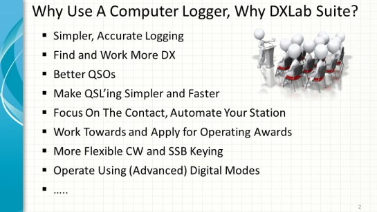 Why Computer Logging And DXLab?