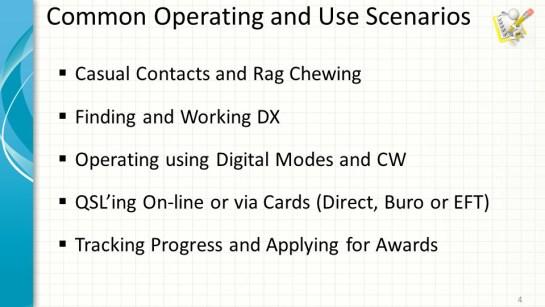 DXLab Use Scenarios