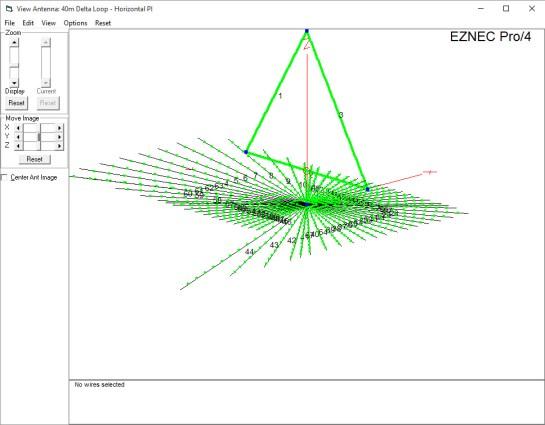 40m Delta Loop EZNEC Model