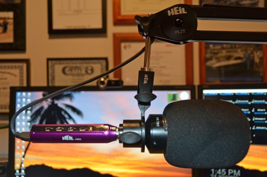 Heil Microphone And USBQ Adapter
