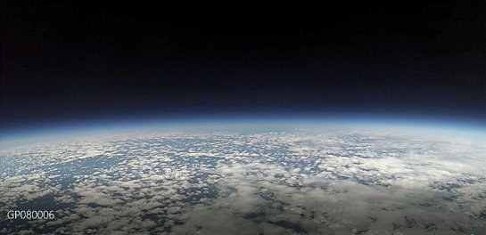 Image Taken From Our High-Altitude Balloon at over 90,000 ft