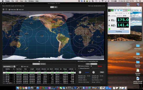 MacDoppler and GHTracker via VNC