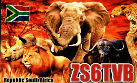 12m DX - ZS6TVB South Africa