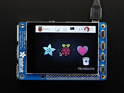 Pi-TFT Touch Screen Display