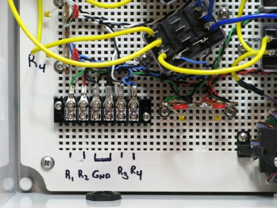 Relay Control Circuit Connections