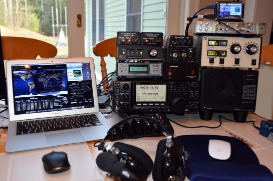 Portable Satellite Station 3.0 Radio and Controls