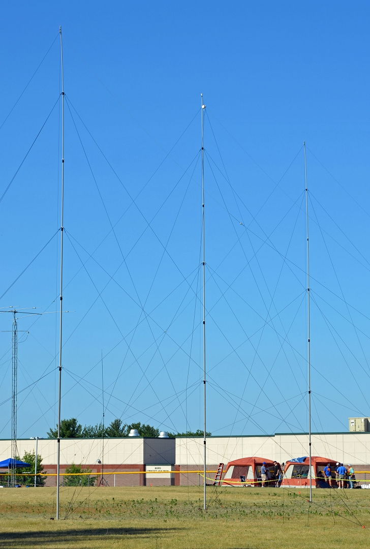 A 40m High Performance Antenna For Field Day