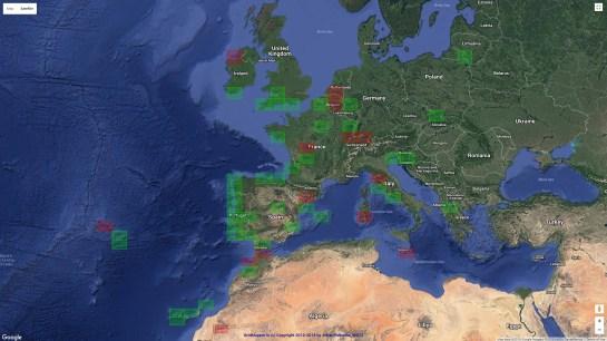 AB1OC Europe 6m Grids
