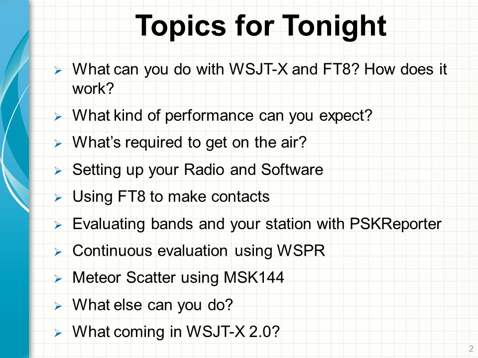 WSJT-X and FT8 – A Video Introduction