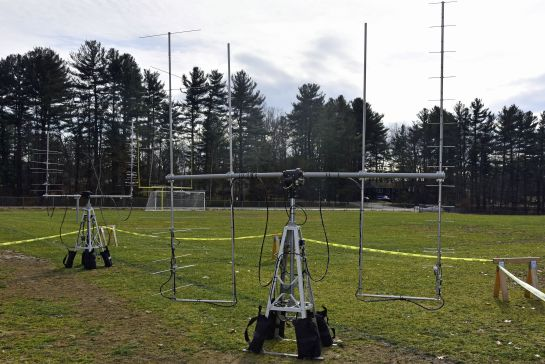 Primary and Backup Antennas at the School
