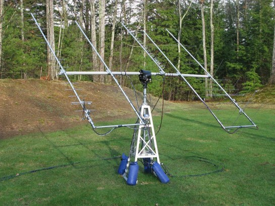 Portable Satellite Station 3.0 Antennas