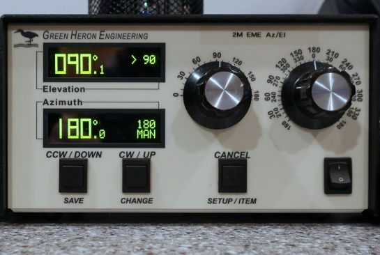 Green Heron RT-21 Az-El Rotator Controller