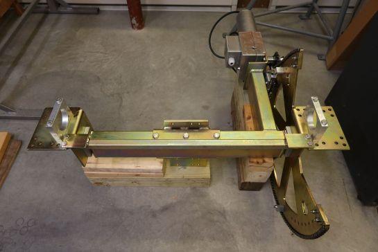 Assembled MT-3000A Elevation Rotator