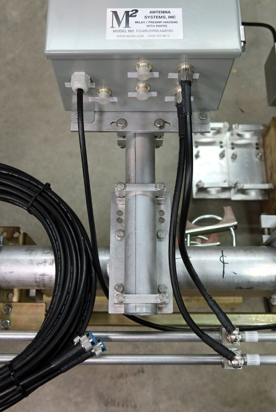 Power Divider and Feedline Jumper Coax Cables