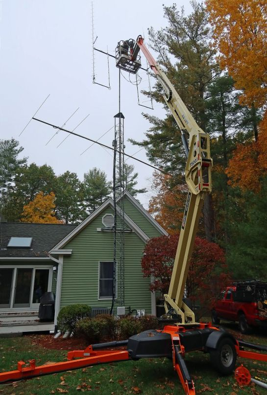 Upgraded Antennas Going On Tower