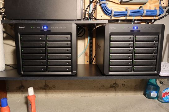 NAS Drives with 10 GbE Optical Interfaces