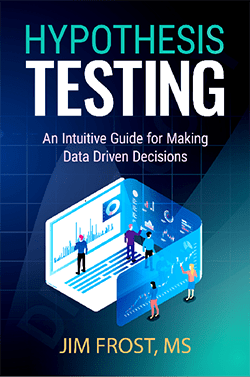 Cover for hypothesis testing ebook.