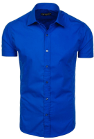 Photograph of a blue shirt for the example of the multiplication rule for probabilities.