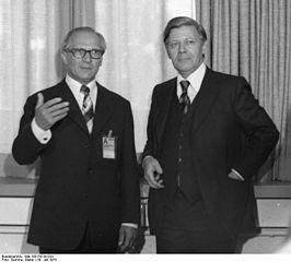 Honecker Schmidt