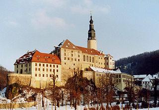 Schloss Weesenstein in Zahlen