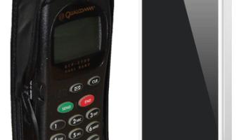 zwei Handies: 90er Jahre vs. 2013