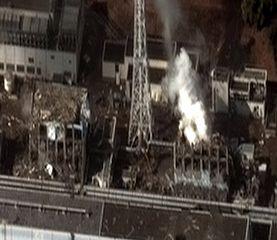Fukushima: die zerstörten Reaktoren 3 und 4