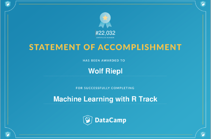 Skill Track: Machine Learning with R