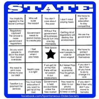 Statist Bingo