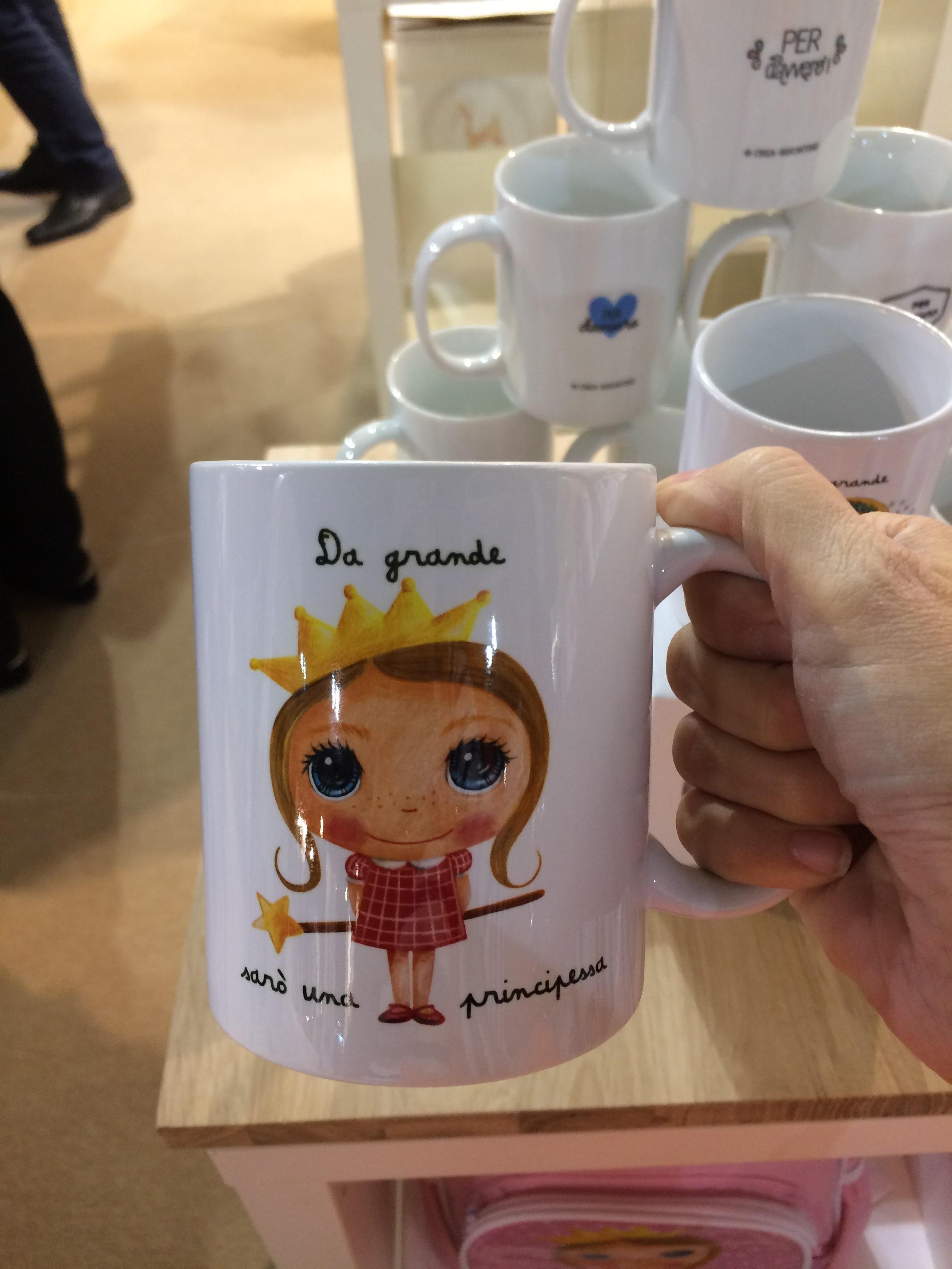 Label Tour tazza principessa