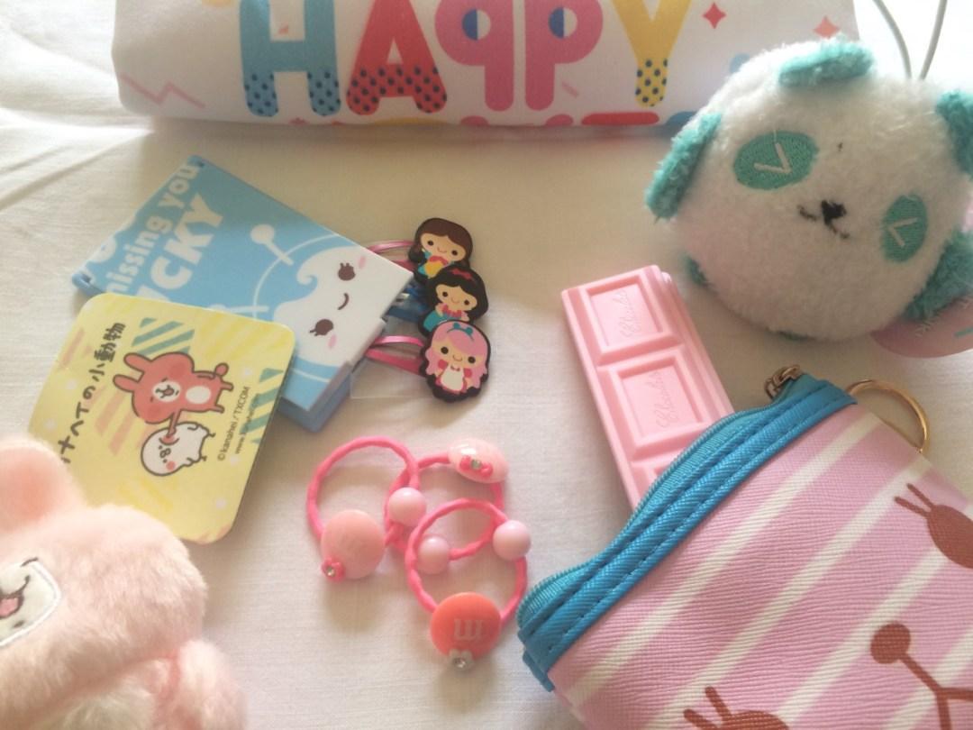 Happy Cute Surprise Bag, idea regalo per le bambine amanti delle cose Kawaii