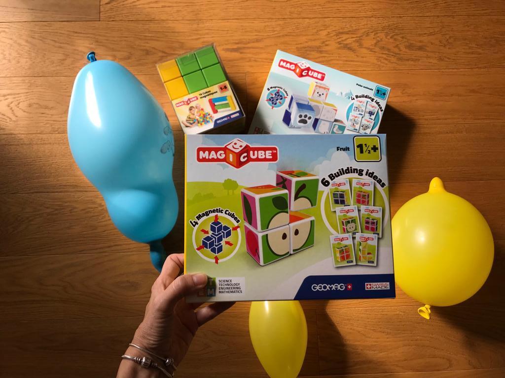 Geomag-magiccube- costruzioni per bambini