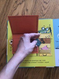 Libro per bambini dedicato ai viaggi in aereo