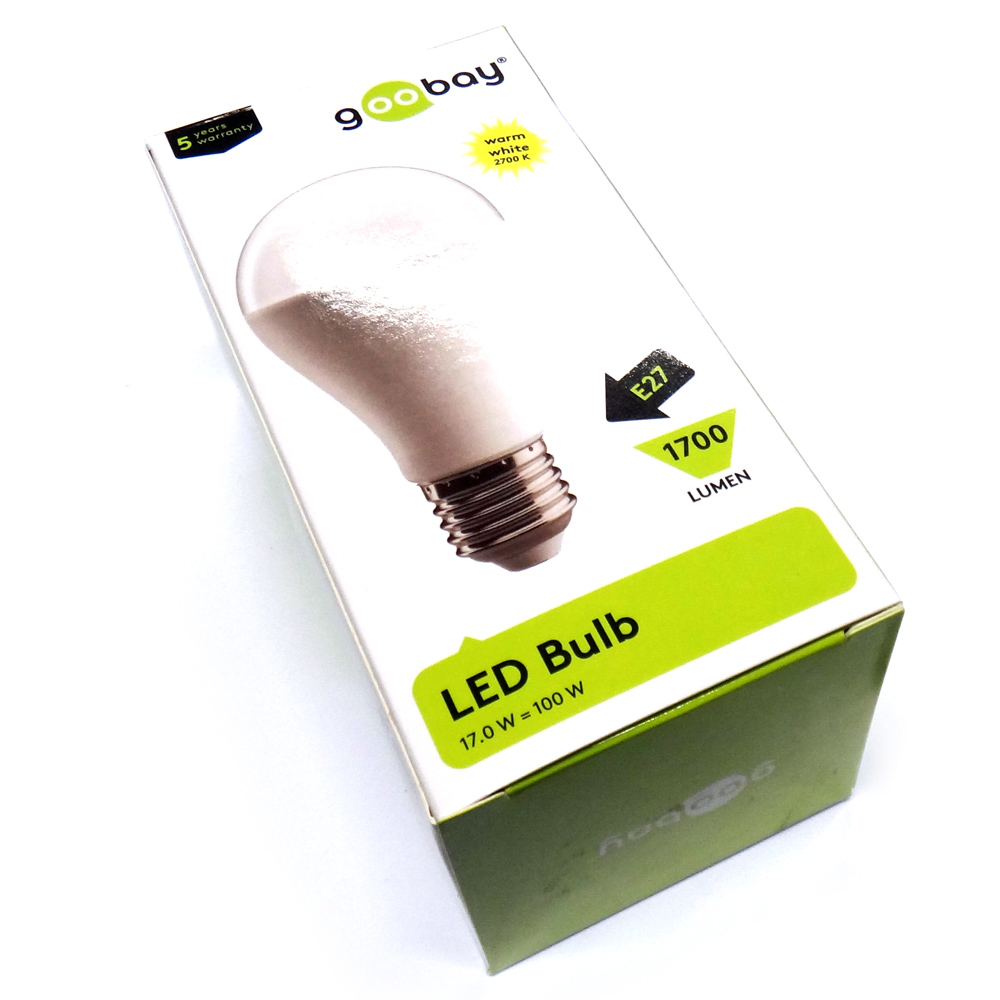 17 Watt LED Birne