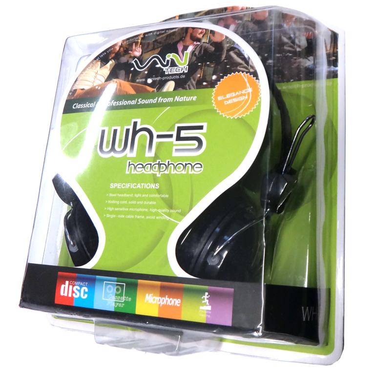 Wintech WH-5 Stereo Headset