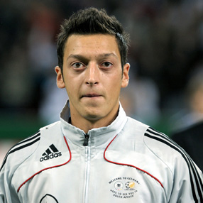 Mesut Ozil - the Greek, er... German God of Assists.