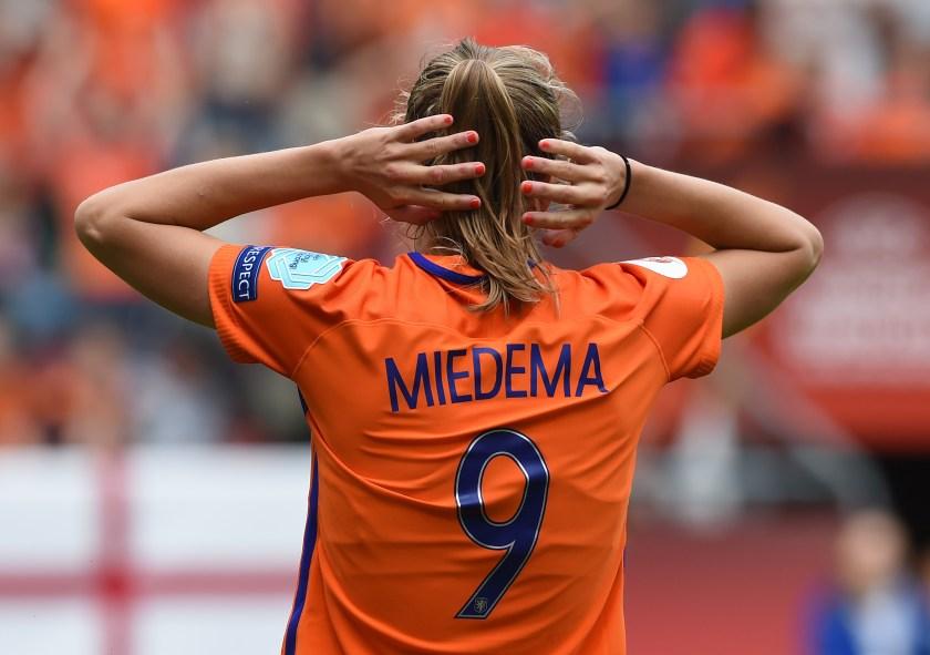 Netherlands striker Vivianne Miedema