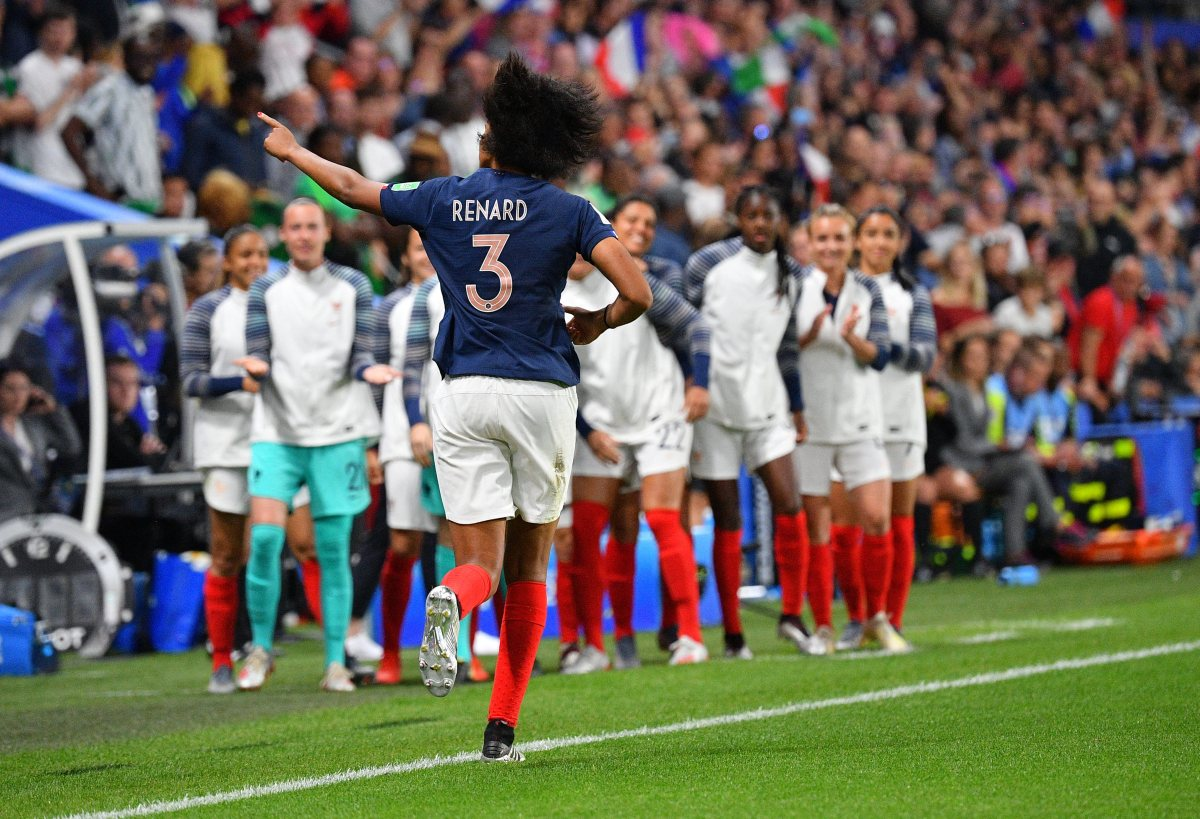 France centre-back Wendie Renard