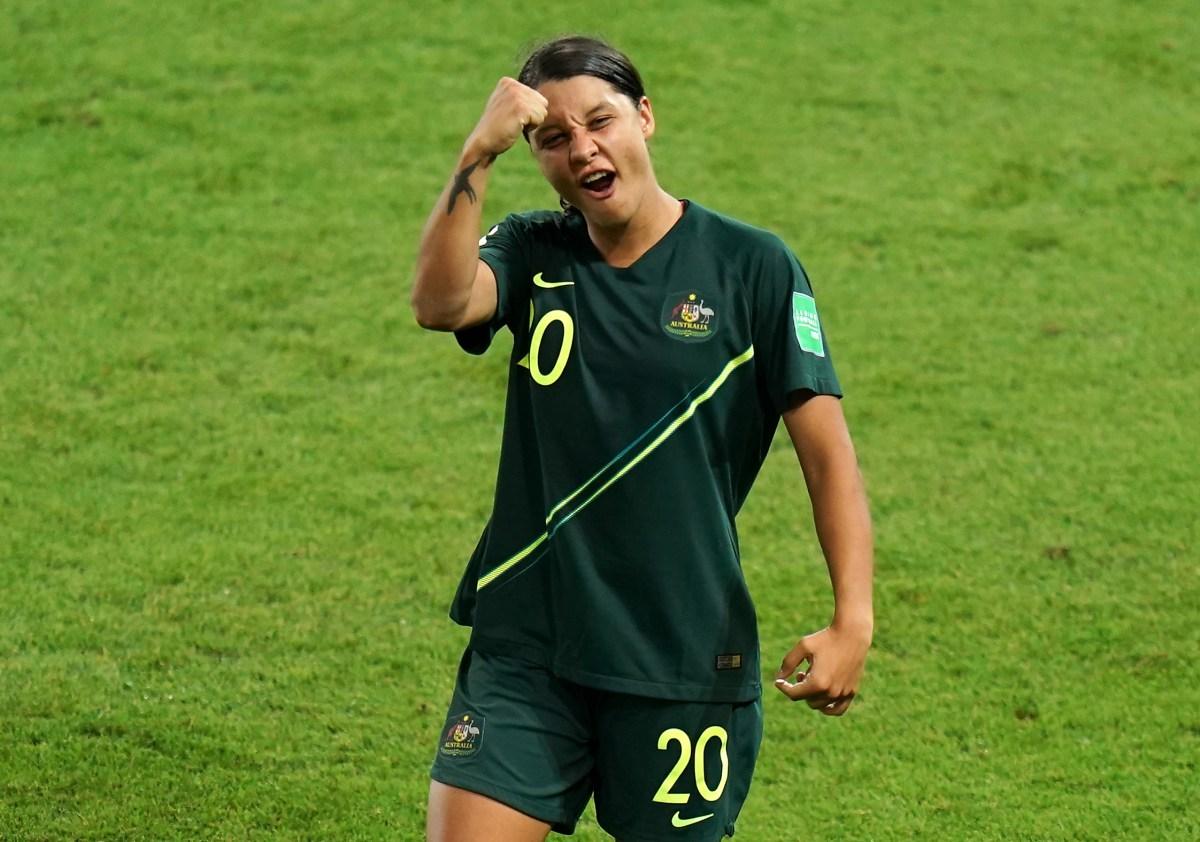 Australia striker and captain Sam Kerr