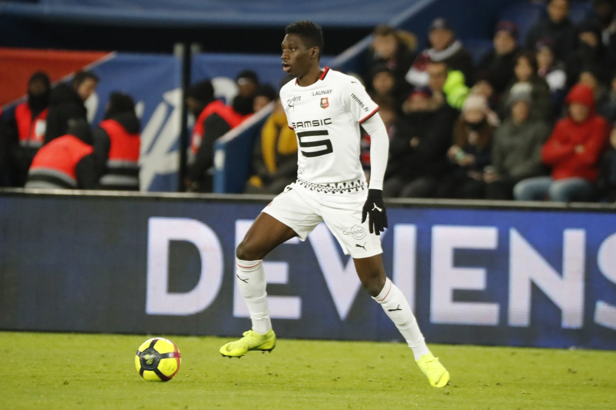 Rennes winger Ismaila Sarr