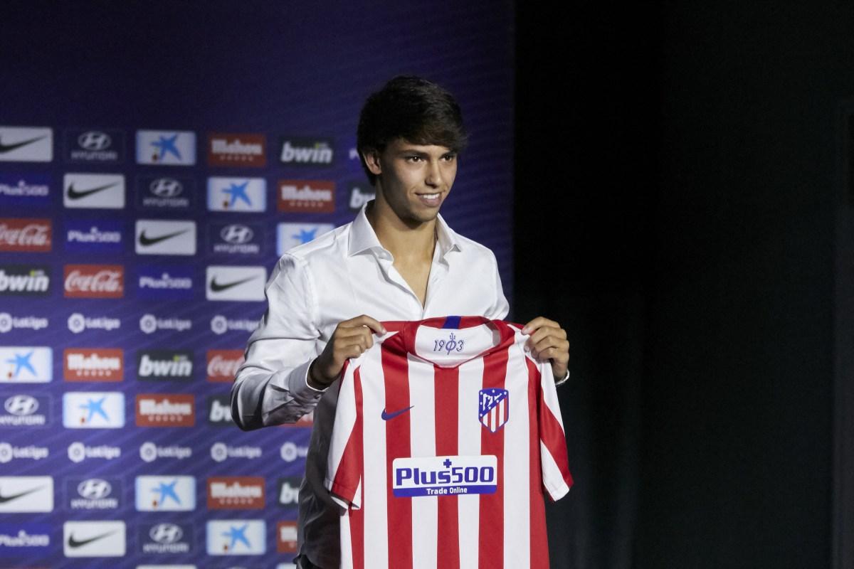 Atletico Madrid forward Joao Felix