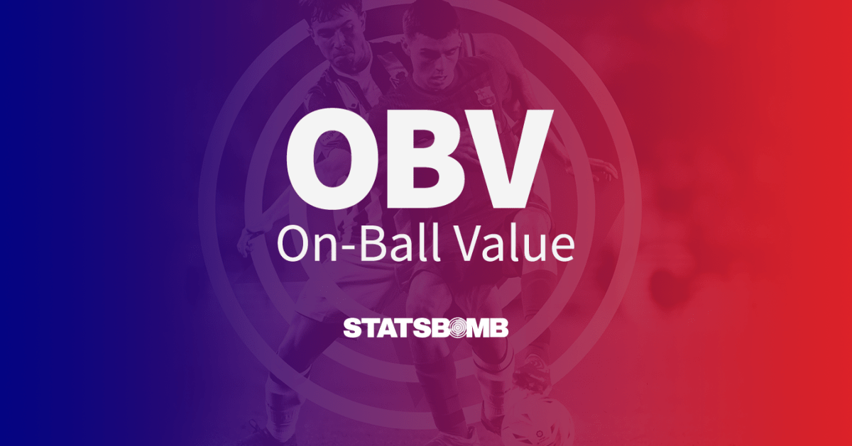 Introducing On-Ball Value (OBV)