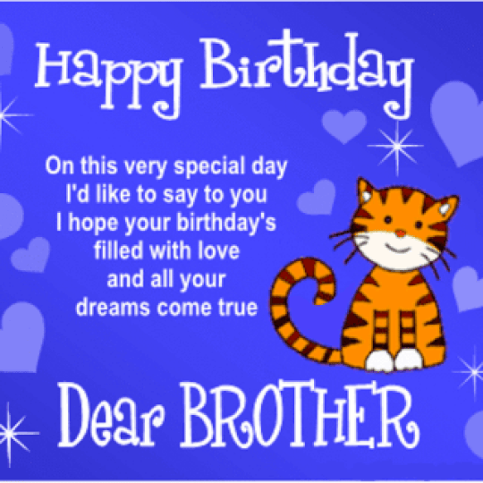 Happy Bday to you brother dp
