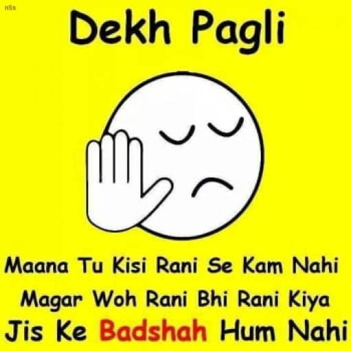Dekh Pagli whatsapp status For Fb
