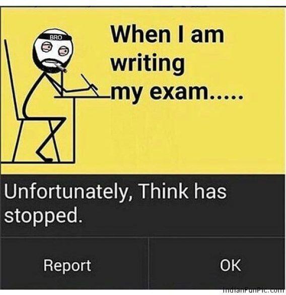 Funny Exam dp