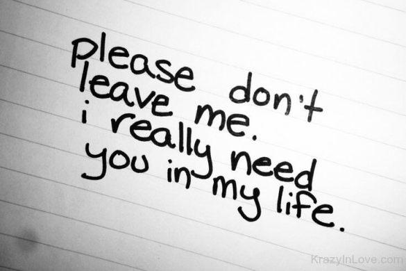 Please Don't Leave Me Dp
